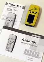 Garmin Geko 101 GPS receiver package
