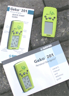 Garmin Geko 201 GPS receiver package