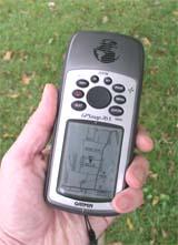 Garmin GPSMAP 76S GPS receiver
