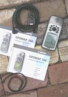 Garmin GPSMAP 76S receiver package