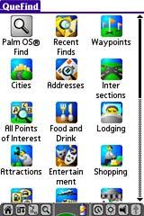 Garmin iQue 3600 GPS receiver Find Page