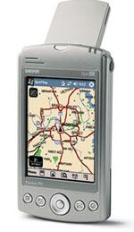 Garmin iQue M5 GPS receiver