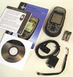 Magellan Meridian Platinum GPS receiver package