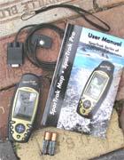 Magellan SporTrak Topo GPS receiver package