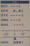 Magellan SporTrak GPS receiver NAV 1 screen