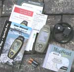 Magellan SporTrak Topo GPS receiver package