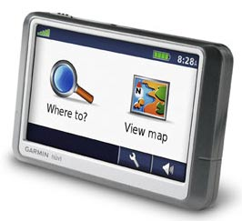 A GPS car navigation unit