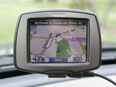 Garmin StreetPilot c340 GPS receiver