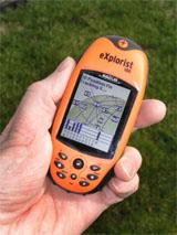 Magellan eXplorist 100 GPS receiver