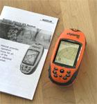 Magellan eXplorist 100 GPS receiver package