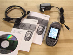 Magellan eXplorist 500 GPS receiver package