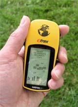 Garmin eTrex GPS receiver