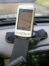 Garmin iQue 3600 GPS receiver