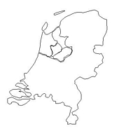 blank Netherlands map
